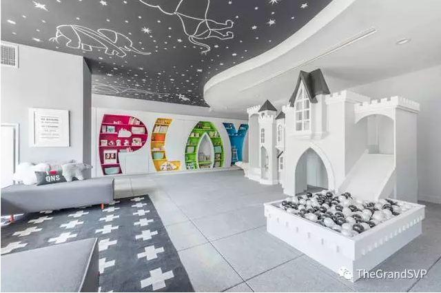 全新天景豪苑THE GRAND儿童活动室抢先看!