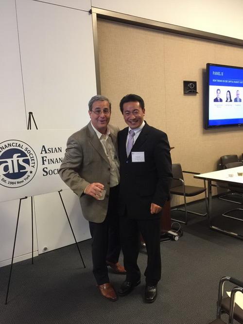 世纪集团总裁徐家鹏先生受邀参加2017亚洲金融协会房地产投资论坛