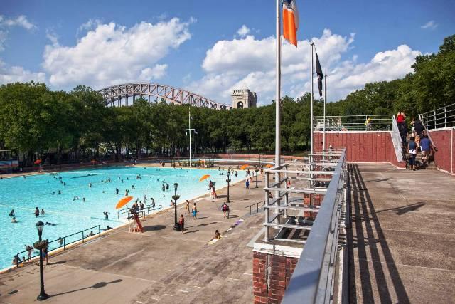 世界游泳锦标赛完美收官 盘点纽约户外免费公共游泳池哪家强