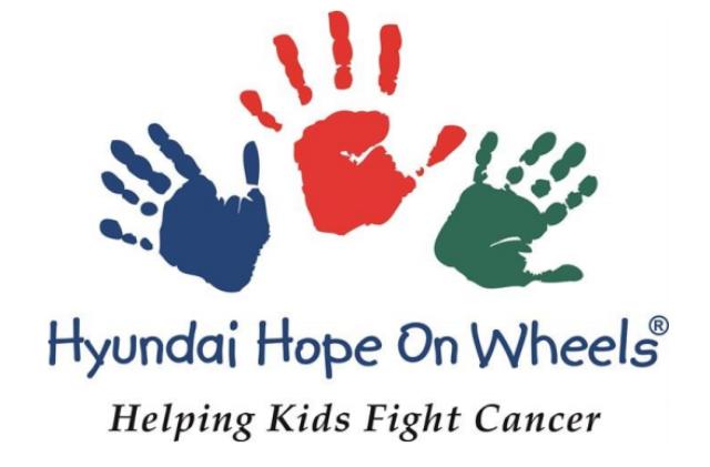 现代「希望之轮」九月儿童癌症觉醒月 全美巡回向40间研究机构捐款