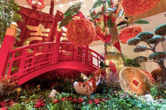 MGM National Harbour推出缤纷温室花草特展和新年庆祝活动