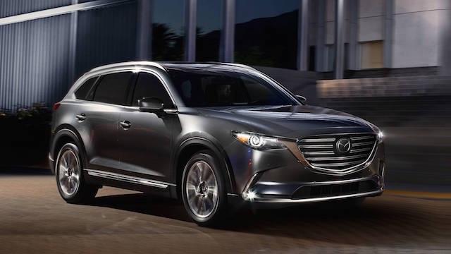 2018 Mazda CX-9 获官方碰撞测试最高评级 马自达三排座获五星肯定