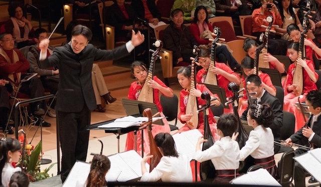 巴德青少年中乐团奏响美东高等学府 呈现两场中国民乐音乐会