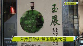 【视频】芳水晶举办赏玉品茶大展