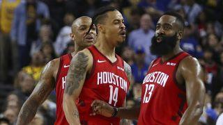 NBA上季西决重演!哈登绝杀,火箭135:134勇士迎6连胜