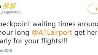 安检1小时以上 更多航站楼关闭 政府关门全美机场大混乱