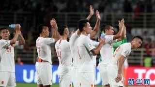 孙兴慜造两球 国足0-2韩国 淘汰赛战泰国