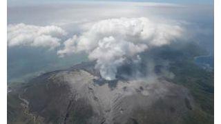 日本鹿儿岛新岳火山再次爆炸性喷发 上个月曾喷两千米高烟尘