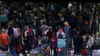 全美受关门影响最大的三个机场是它们