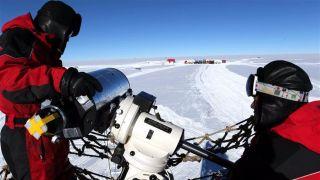 视宁度测量望远镜在中国南极昆仑站完成安装