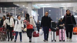 春运期间中国旅客发送量料达29.9亿人次