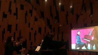 中美高校首次远程钢琴教育课程示范