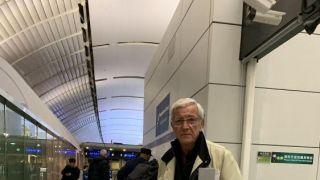 凄凉!里皮正式告别中国 机场无球迷相送
