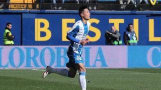 武磊替补上演西甲首秀,时隔1130天中国球员重登五大联赛