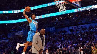 NBA全明星扣篮大赛 迪亚洛隔扣奥尼尔喜提冠军