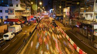 """""""亚洲最虐""""的香港马拉松开跑"""