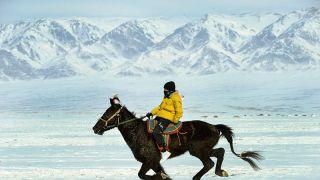 新疆冬季那达慕大会开启冰雪体育大狂欢