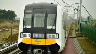 成都地铁全自动无人驾驶列车正式亮相