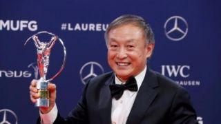 中国70岁无腿老人获世界体育最高奖