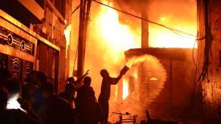 至少110人丧生!孟加拉首都300年老城区大火