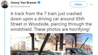 乘客卷入隧道致死 轨道落物砸穿汽车…纽约地铁状况频出