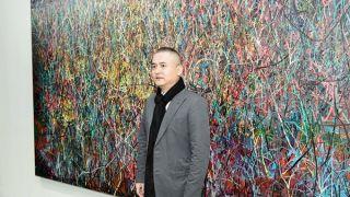 华美银行董事长吴建民捐款支持洛杉矶县立美术馆 美术馆新增著名艺术家曾梵志作品