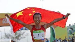 女子50公里竞走破世界纪录!刘虹比亚运男子冠军都快