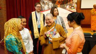 第63届联合国妇女地位委员会会议( CSW63)国际佛光会传达教育理念