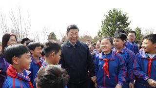 习近平参加北京义务植树活动