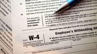 国税局拟发布新W-4表 变化很多很复杂