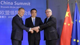 """中国—欧盟领导人举行会晤 市场开放方面获""""突破"""""""