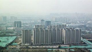 480家企业入驻 俯拍建设中的北京丽泽金融商务区