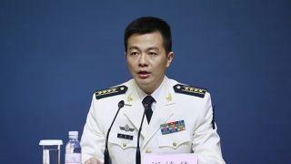 中国海军新闻发言人 刚亮相就火了