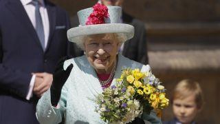 英女王温莎城堡庆祝93岁大寿,孙媳梅根怀身孕未现身