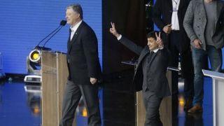 乌克兰现任总统波罗申科承认败选 前喜剧演员将成新任总统