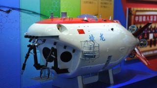 """中国""""蛟龙号""""深海载人潜水器""""升级换代""""后亮相"""