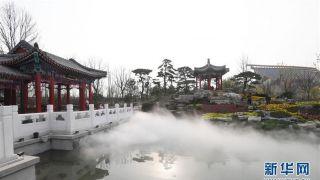 北京世园会中华园艺展示区抢先看 浓缩中国各地园林精髓