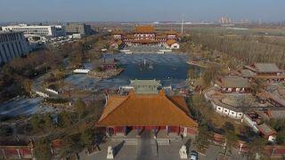 中国天狮集团董事长百亩宫殿被拆 曾供李世民像