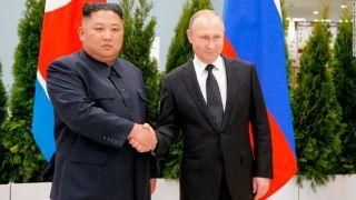 金正恩与普京正式会晤 就朝鲜半岛局势交换意见