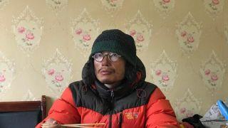 中国羌塘无人区失联50天小伙:三天两头看到狼,摔伤腿影响行程