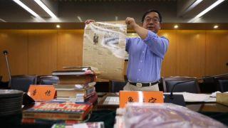 美籍华人鲁照宁再向南京大屠杀遇难同胞纪念馆捐赠文物史料