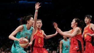 韩旭迎来WNBA首秀 对阵中国女篮拿下19分5篮板