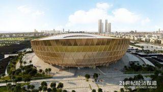 先睹为快!卡塔尔世界杯体育场长啥样?中国铁建承建 施工获突破