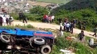 浙江温岭一农用车侧翻 已致12死11伤