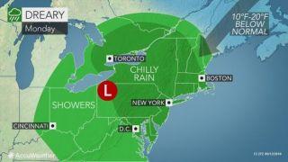 风暴肆略南部后北上,东北多地迎雨水天气