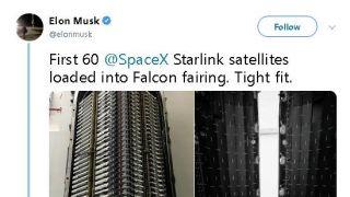 SpaceX互联网高速卫星首露面,马斯克称最快周二发射
