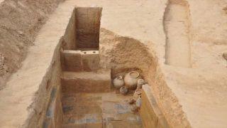 """郑州发现160座两汉时期墓葬 除了""""复式猪圈"""" 还可见四大神兽"""