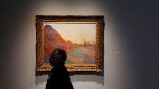 创个人纪录 莫奈作品《干草堆》拍出逾1亿美元