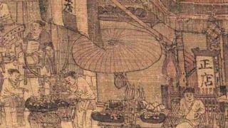 《清明上河图》暗藏细节:原来宋朝就有了打包外卖