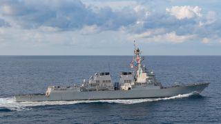经贸关系紧张之际,美舰再入南海,北京表示坚决反对